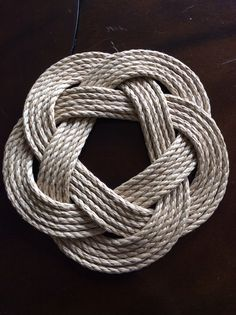 Nautical Rope Trivet