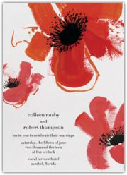 Paperless Post - Browse - Red Poppies