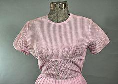 Rockabilly 1950 Orchid Spring Cotton Dress