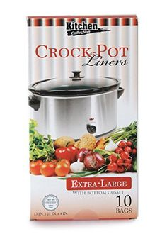 Party Bargains Multi-Use Cooking Bags Slow Cooker - Crock Pot Liners, Extra Large, 10 Count (3 PACK)