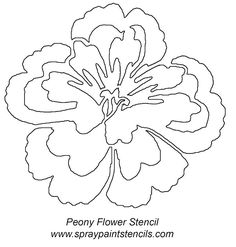 free flower stencils you can print | Shadow Grass or Cat Tails - Stencil Outline Version