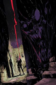 Hellblazer #1 cover by Riley Rossmo and Ivan Plascencia