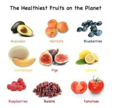 healthy fruits on the planet