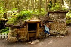 Attraction Photographs of Enchanted Forest - Revelstoke BC Attractions