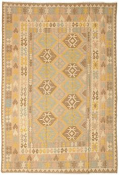 Kelim Afghan Old style-matto 196x291