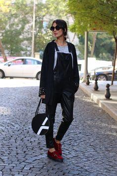 Nur Bilen Yavuzer street style