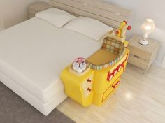 Visão superior Room Accessories, Toy Chest, Cribs, Storage Chest, Toddler Bed, Cabinet, Bedroom, Interior, House