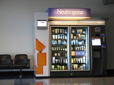 DFW airport | Neutrogena vending machine by ardenstreet, via Flickr