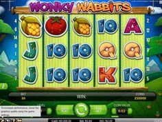Zahrajte si automat Wonky Wabbits Online ZDARMA! http://www.automaty-ruleta-zdarma.com/automat-wonky-wabbits-online-zdarma/… Více na http://www.automaty-ruleta-zdarma.com!