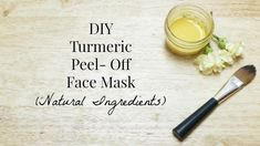 DIY Peel Off Turmeric Face Mask Recipe for Skin Discoloration, Glowing S... #HomemadePeelMask #CharcoalPeelMask #FaceMaskProducts #SkinCareMasks Face Scrub Homemade, Homemade Face Masks, Best Peel Off Mask, Chocolate Face Mask, Charcoal Mask Peel, Skin Tightening Mask, Turmeric Face Mask, Acne Face Mask, Face Face
