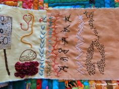 Tanglewood Threads: Messy Scratchings