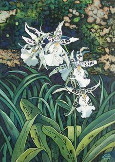 Julie Dunn Fine Art - Tempera Batik good explaination!