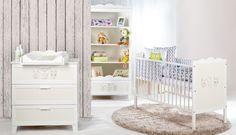Łóżeczko dziecięce które ozdobi pokój twojego dziecka - dostępne osobno bądź w zestawie.