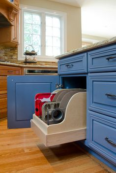Image Detail For GAP Interiors Detail Of Folding Storage - Kitchen cabinet space savers
