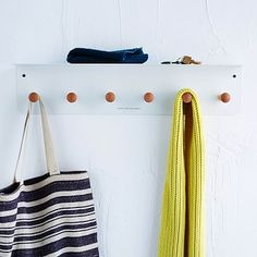 Universal Expert Hooks #westelm  For Next to counter/radio/hallway