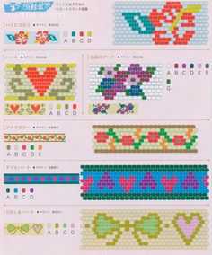 variety of beaded bracelets