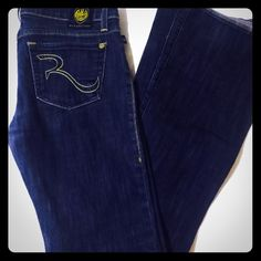 Rock n republic denim dark jeans size 27 Size 27 rock n republic dark denim jeans Band of Outsiders Jeans Flare & Wide Leg