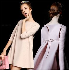 Europe fashion new 2016 autumn winter women A design solid Doll elegant brief temperament top grade high quality dresses-in Dresses from Women's Clothing & Accessories on Aliexpress.com | Alibaba Group