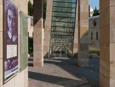 Holocaust Emlékközpont, Budapest, #árnyékolók, #építészet, #üveg, #homlokzat Budapest
