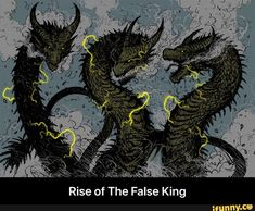 Rise of The False King - iFunny :) Godzilla Franchise, Godzilla Comics, King Kong, Godzilla Vs King Ghidorah, Aliens, Funny Profile Pictures, Big Scary, Dragon Sleeve, Demon Art