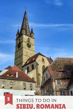 Romania is a downright magical country! Click here to see five things to do in one of its most beautiful towns, Sibiu!
