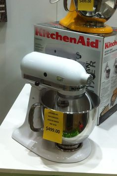 Angela, Empire Lifestyle Revolution.  Kitchen Aid mixer, $499.00