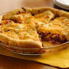 Cheeseburger Crescent Casserole...because I'm always looking for recipes to mask venison. Really yummy!