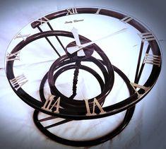 Konferenčny stolík s hodinami / Sanity-Universe - SAShE. Coffe Table, Universe, Coffee, Kaffee, Cosmos, Cup Of Coffee, Space, The Universe