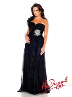 Black Plus Size Prom Dress | 6333F