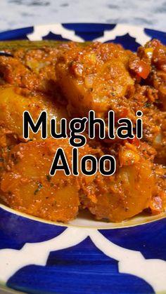 Aloo Recipes, Veg Recipes, Curry Recipes, Potato Recipes, Vegetarian Recipes, Dinner Recipes, Cooking Recipes, Indian Vegetable Recipes, Indian Food Recipes