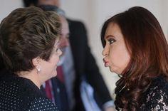 Kirchner culpa Brasil por queda do PIB argentino: o dia de estátua. A culpa é sua Dilma.