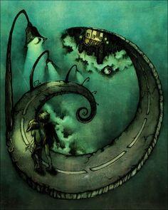 Cool Concept Art by Stef Tastan