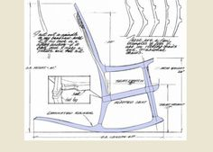 Tantra chair plans diy tantra chair diy woodworking plans and projects - Rocking Chair Plans Plan Bois Pinterest Conception