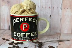 oh, sweet joy!: ((i scream, you scream series)) coffee ice cream recipe