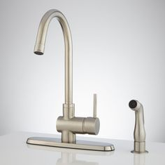 Ultra Modern Kitchen Faucets modern wall-mount hot&cold articulating kitchen faucet 2-hole