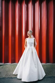 Stunning Caroline Castigliano 'Hepburn' dress - Love My Dress® UK Wedding Blog