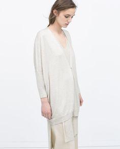 ZARA - 이번 주 신상품 - 버튼 크로스 재킷