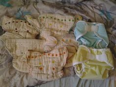 Prefitted diapers.