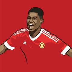 The 18 year old United youngster who scored two and got man of the match on his Premier League debut. Manchester United Champions, Manchester United Legends, Manchester United Football, Manchester United Wallpapers Iphone, Man Utd Fc, Marcus Rashford, Man Of The Match, Premier League Champions, Sports Stars