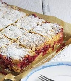 Pear and almond cake - HQ Recipes Polish Desserts, Polish Recipes, Cookie Desserts, Just Desserts, Cookie Recipes, Delicious Desserts, Dessert Recipes, Dessert Drinks, Pear And Almond Cake