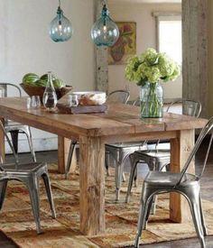 35 immagini affascinanti di Tavolo in legno massello | Wood table ...