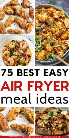 Here are BEST delicious and healthy air fryer recipes that your family will just love. These easy best air fryer recipes are a guaranteed hit! fryer recipes easy dinner Best Air Fryer Recipes Your Family Will Love - This Tiny Blue House Air Fryer Recipes Potatoes, Air Fryer Recipes Vegetables, Air Fryer Recipes Snacks, Air Fryer Recipes Low Carb, Air Fryer Recipes Breakfast, Air Frier Recipes, Air Fryer Dinner Recipes, Vegetable Recipes, Chicken Recipes