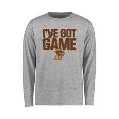 Lehigh Mountain Hawks Youth Got Game Long Sleeve T-Shirt - Heather Gray