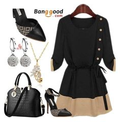"""1#Banggood"" by fatimka-becirovic ❤ liked on Polyvore"