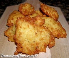 Instead of potato patties, give yuca – also known as cassava – a try. Ingredients: 1 pound grated yuca (cassava)  …  Continue reading →