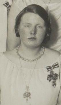 Diamond Riviere Princess Juliana 1926