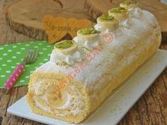 Yumuşacık rulo pasta sevenler için, nefis bir tarif...