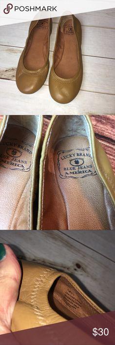 {Lucky Brand} flats Sz 7.5 {Lucky Brand} tan flats size 7.5. Lucky Brand Shoes Flats & Loafers