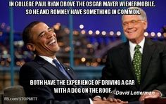 Dave and Barack having a laugh.