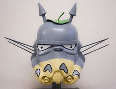 Totoro-Trooper With Artbelow for Moniker Art Fair schoony - WOW!